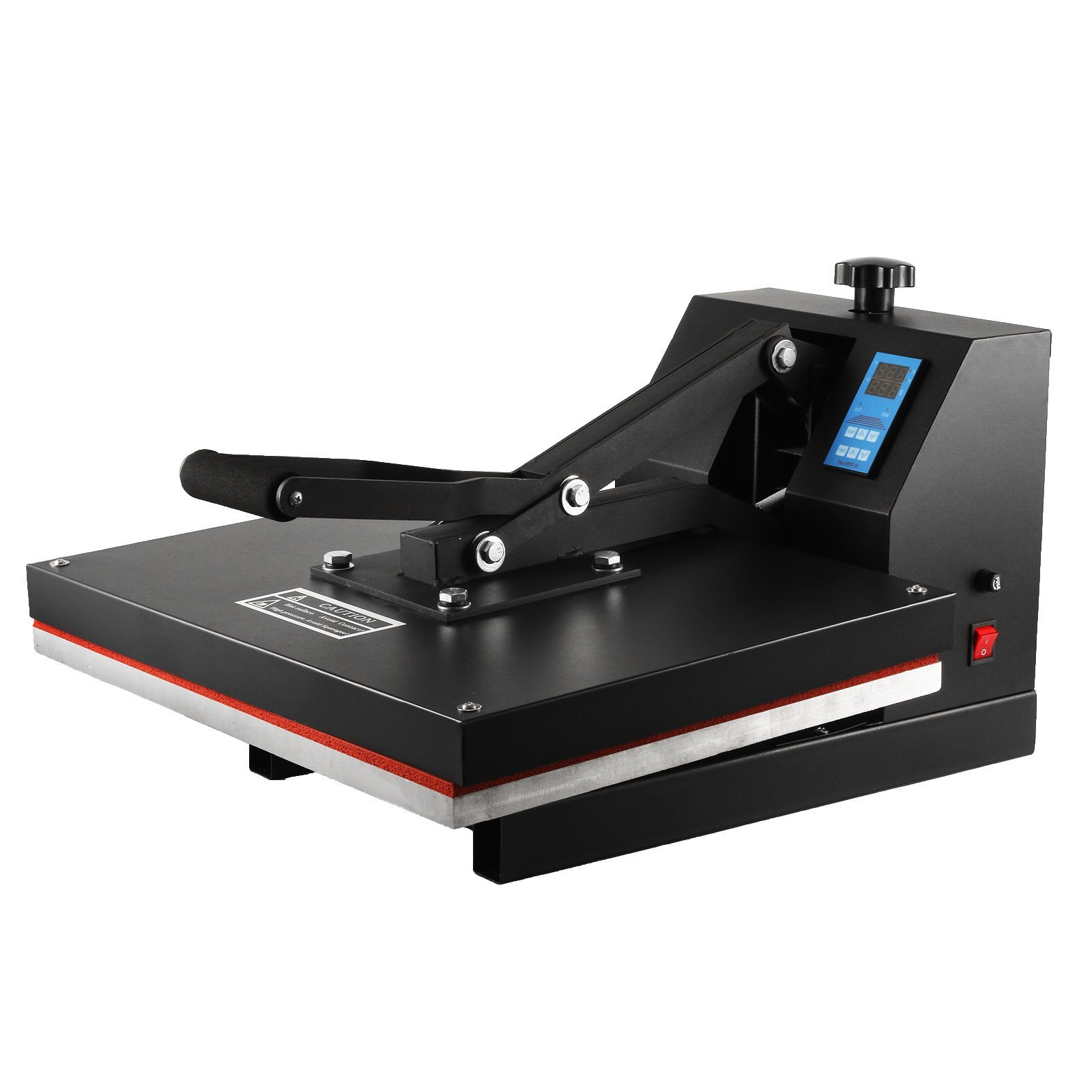 VEVOR Digital Clamshell High Pressure Heat Press Machine for T-Shirts, LCD Display Heavy Duty Commercial-Grade, 1700 W by VEVOR