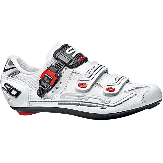 Sidi Genius 7 Mega Rennradschuhe Weiß, 45: : Sport