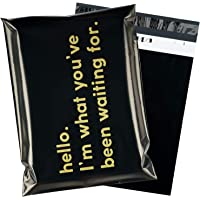 RUSPEPA Poly Mailer Shipping Bag with Self Sealing, Business Text Printed Design 2.3 Mil Heavy Duty Self Seal Mailing…