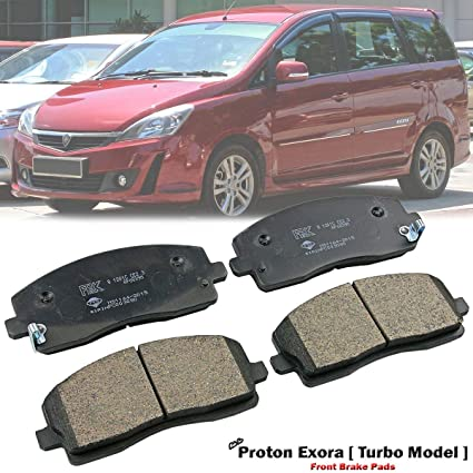 Amazon.com: Front Disc Brake Pad For Proton Exora FZ MPV Preve CR 2012-ON 1.6L S4PH Turbo: Automotive