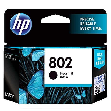 HP 802 Small Ink Cartridge   Black Inks, Toners   Cartridges