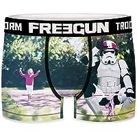 FREEGUN Star Wars męskie bokserki Funny Stormtrooper Wojna Gwiezdne Wojny Meme nadruk 1 sztuka S M L XL XXL