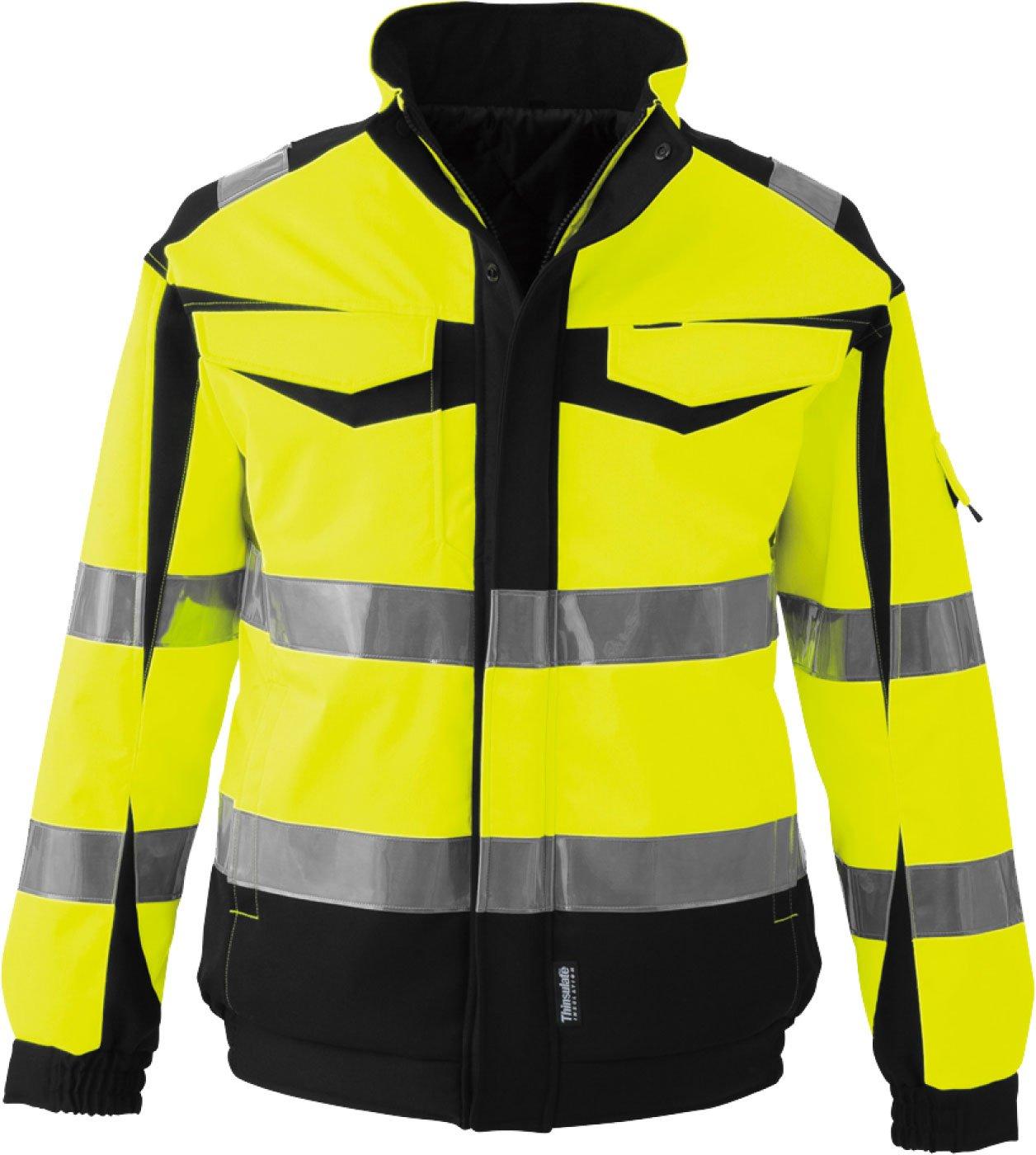 コーコス(CO-COS) 高視認性安全防水防寒ジャケット セーフティ 反射ブルゾン cc-cs2420 B01M8JR0SG M|イエロー イエロー M