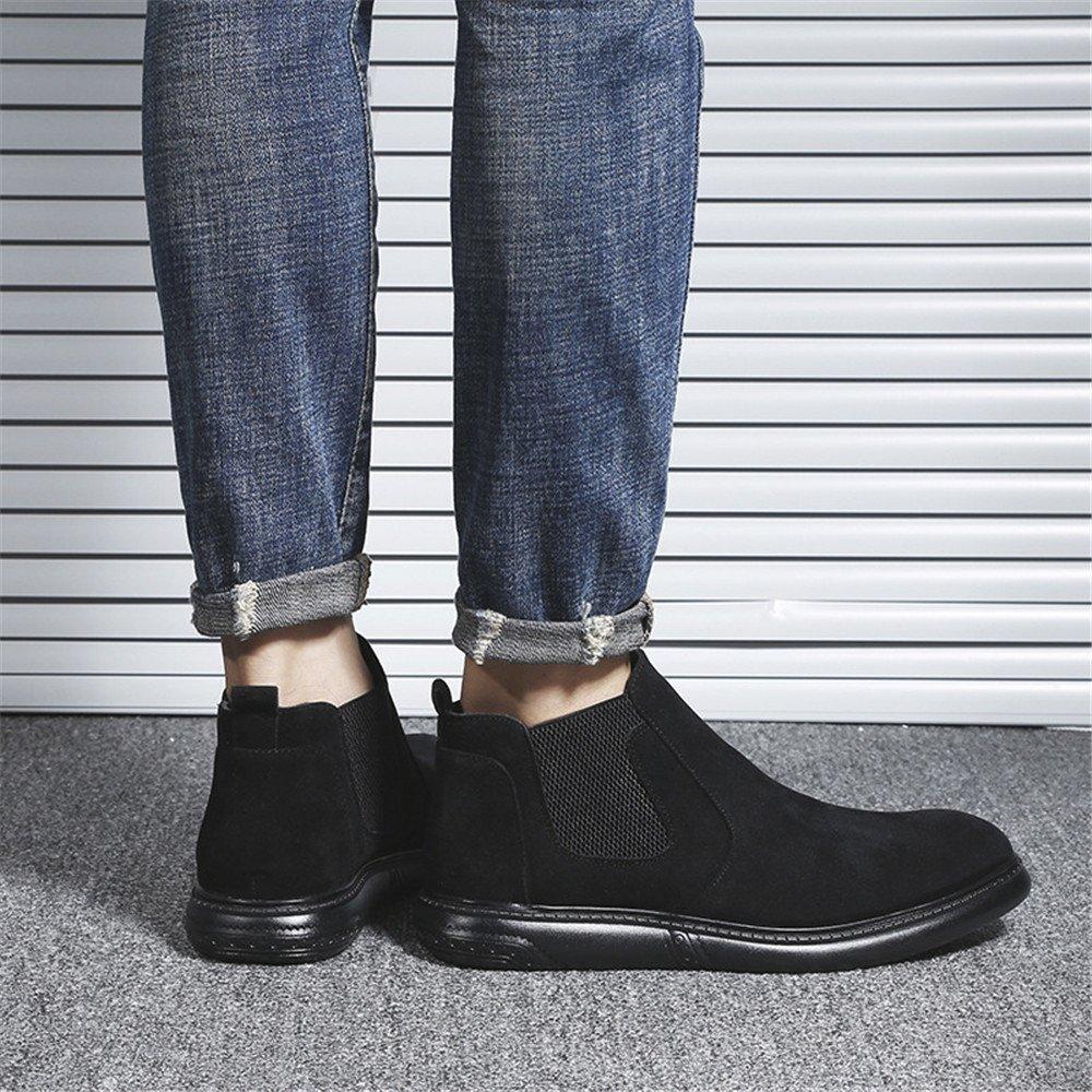 Männer - mode, freizeit kurze stiefel und und und chelsea englischer kurze stiefel,schwarz,42 45185e