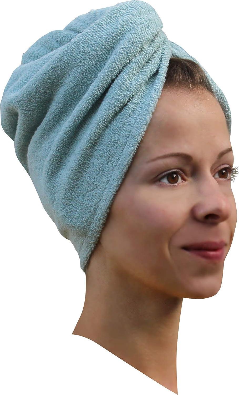 1 x Haarpunzel Turban Haartrockentuch Handtuch Kopftuch Farbe: Zebra Medi-Inn