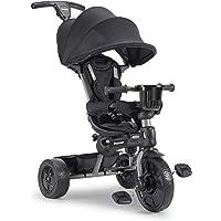 Joovy Tricycoo 4.1 Kid's Tricycle, Push Tricycle, Toddler Trike, Black