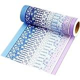 Très Chic Mailanda - Nastro Adesivo Decorativo Washi Nastro Masking tape washi tape Scrapbooking Sticker set di 10 Multicolore