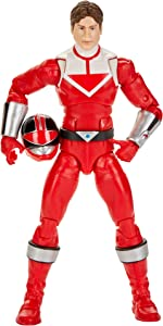 Power Rangers Lightning Collection Time Force Red Ranger 6-Inch Premium Collectible Action Figure Toy with Accessories