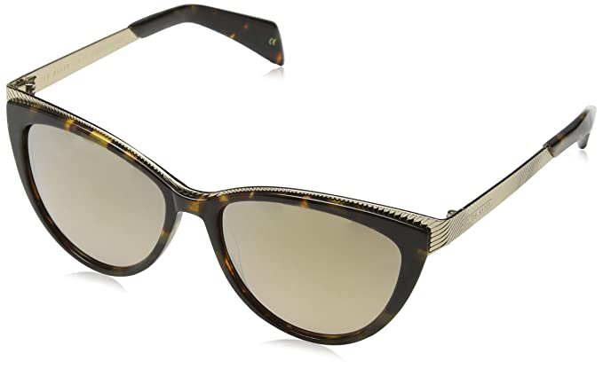 Sunglasses Womens Tierney Sunglasses, Black, 57 Ted Baker