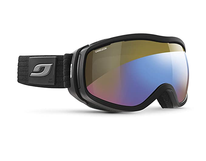 Amazon.com   Julbo Elara Photochromic Womens Snow Goggles - Cameleon -  Black Grey   Sports   Outdoors a44b2c0b4f8c
