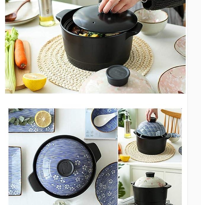 DD Cazuela Japonesa Doble tapa Tetera de cerámica de alta ...