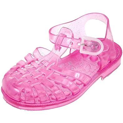 eb35e3a0be2bd Méduse - Sandale fille en plastique rose pailleté  Amazon.fr  Chaussures et  Sacs