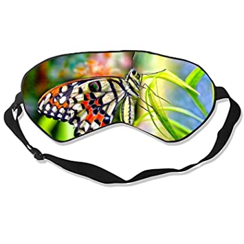 Amazoncom Good Night Sleep Mask Butterfly Colorful Colors Flower