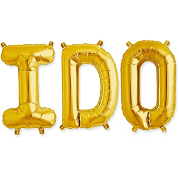 40 i do gold foil balloons love balloons huge wedding party supplies love letters