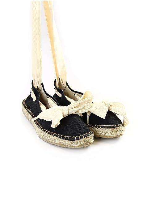 wholesale dealer 8a227 9c31d Fornarina espadrillas con lacci sulla caviglia black 37 ...