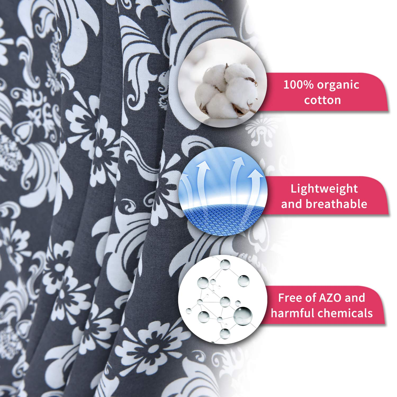 Amazon.com: Cubierta de lactancia Infinity suave para ...