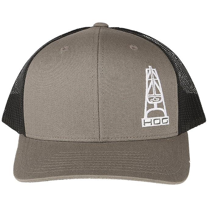 best website 9a253 90515 Hooey Mens Bum Black Trucker Cap w HOG Logo OS Gray  Amazon.in  Clothing    Accessories