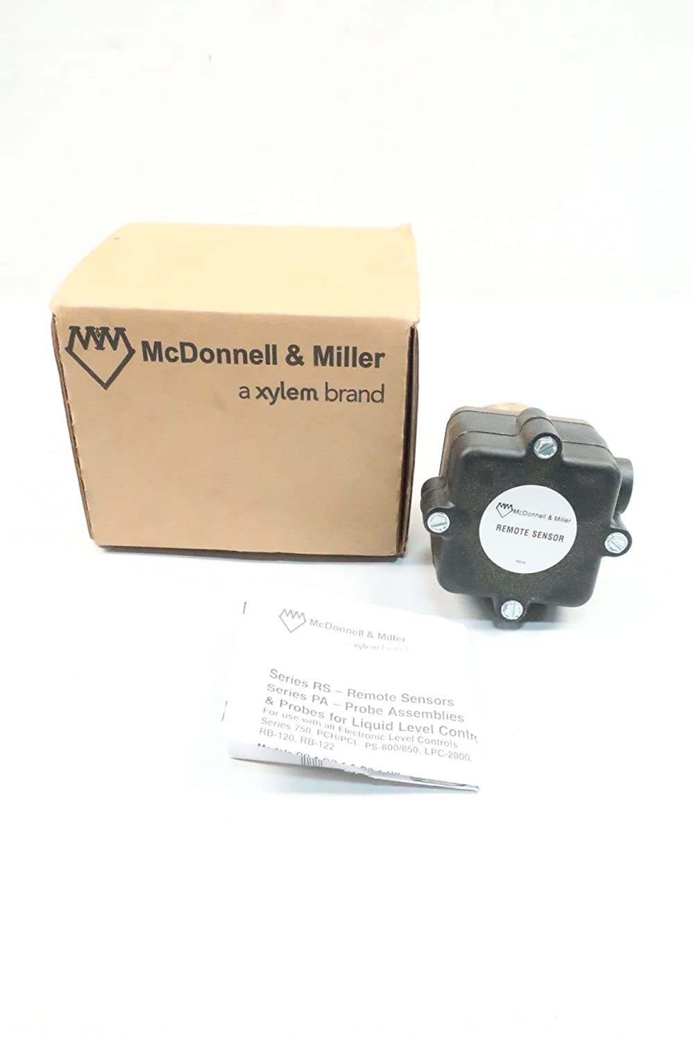 MCDONNELL & MILLER RS-4-BR-1 Remote Level SENSORS Assembly D624681: Amazon.com: Industrial & Scientific