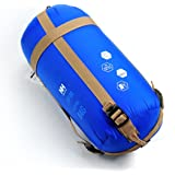 Naturehike Envelope Outdoor Sleeping Bag Camping Sleeping Bags (Blue)
