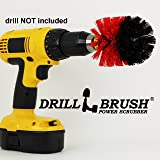 Original Drillbrush Power Scrubber Heavy Duty Stiff Bristle Nylon Scrub Brush