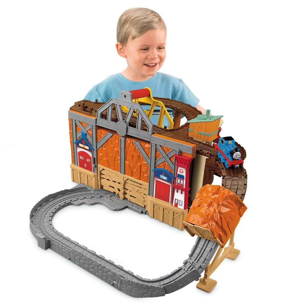 Fisher Price - R9623 - Thomas and Friends Take N Play - Rescue from Misty Island Fold out Train Playset Mattel Vehicles & Boats