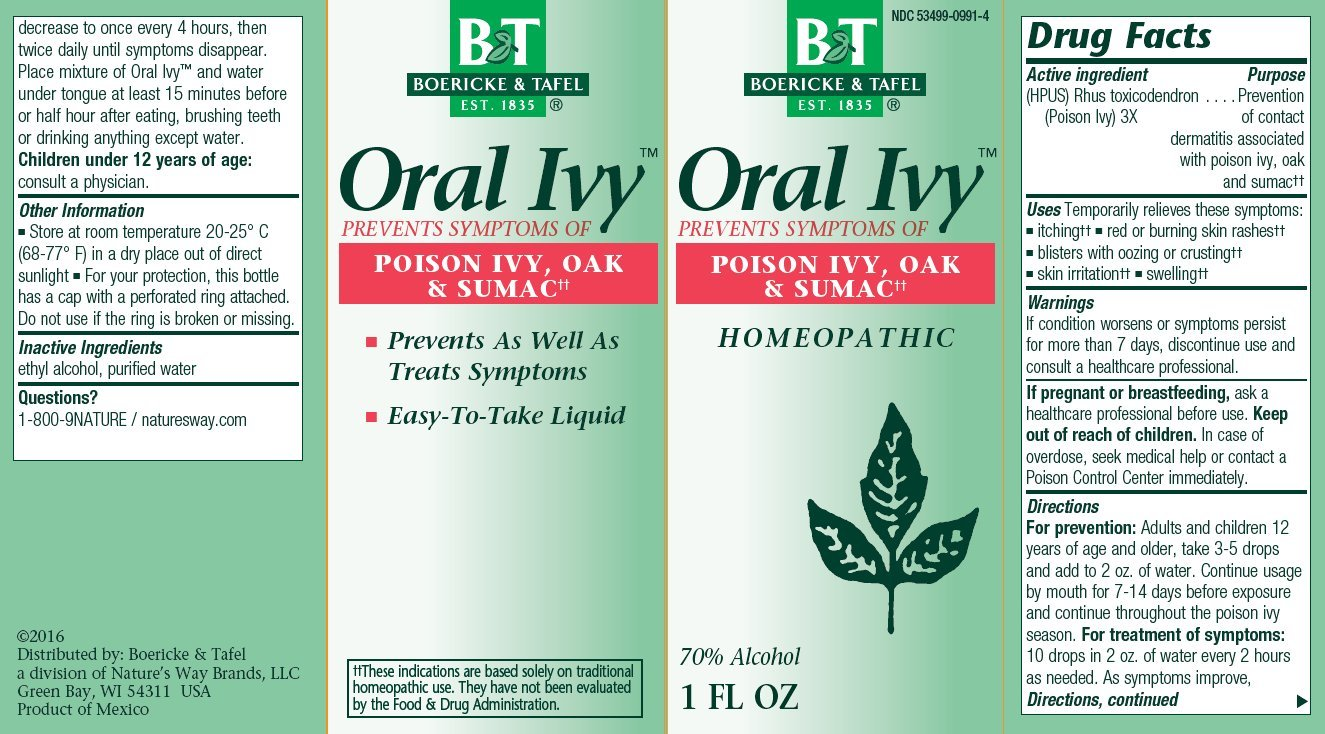 Boericke and Tafel - Oral Ivy - 1 oz. ( Multi-Pack)