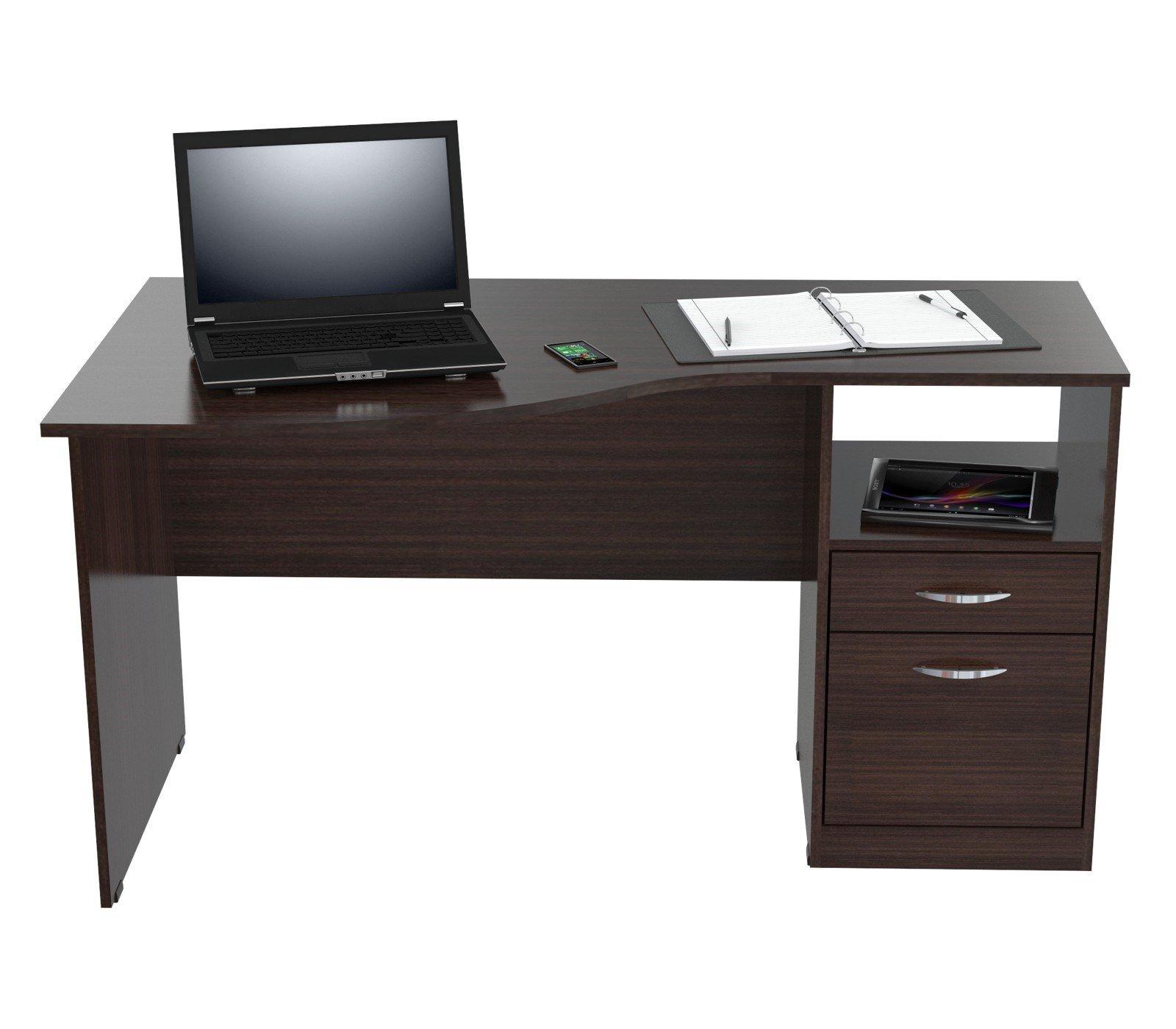 Inval America ES-2203 Curved Top Desk