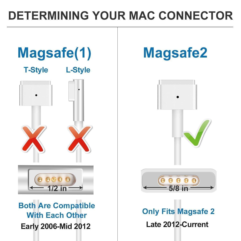 BENTECH, Cargador Compatible con Macbook Air Retina Equivalente ...