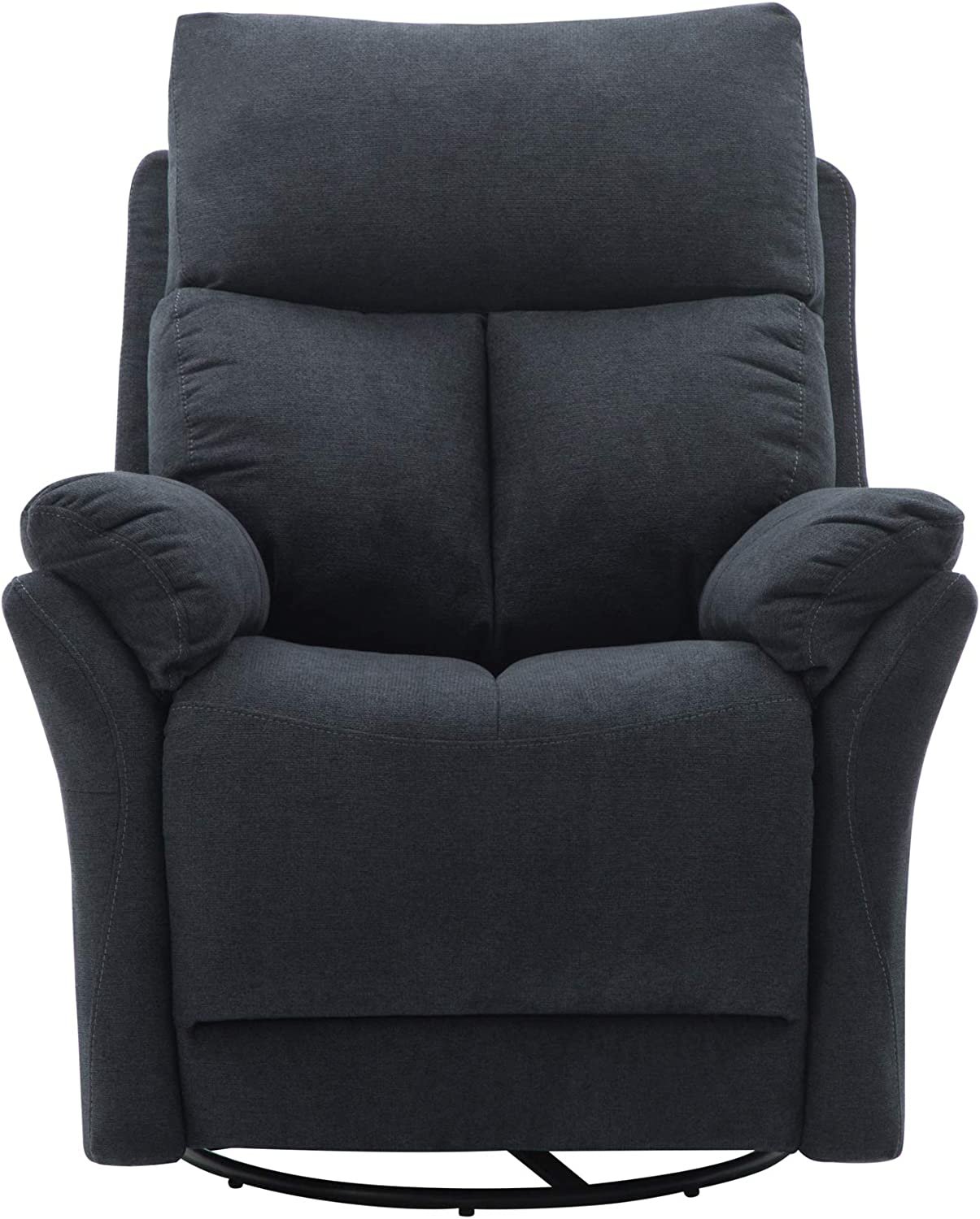 Classic Brands Twinkle Twinkle Popstitch Upholstered Recliner Chair Grey