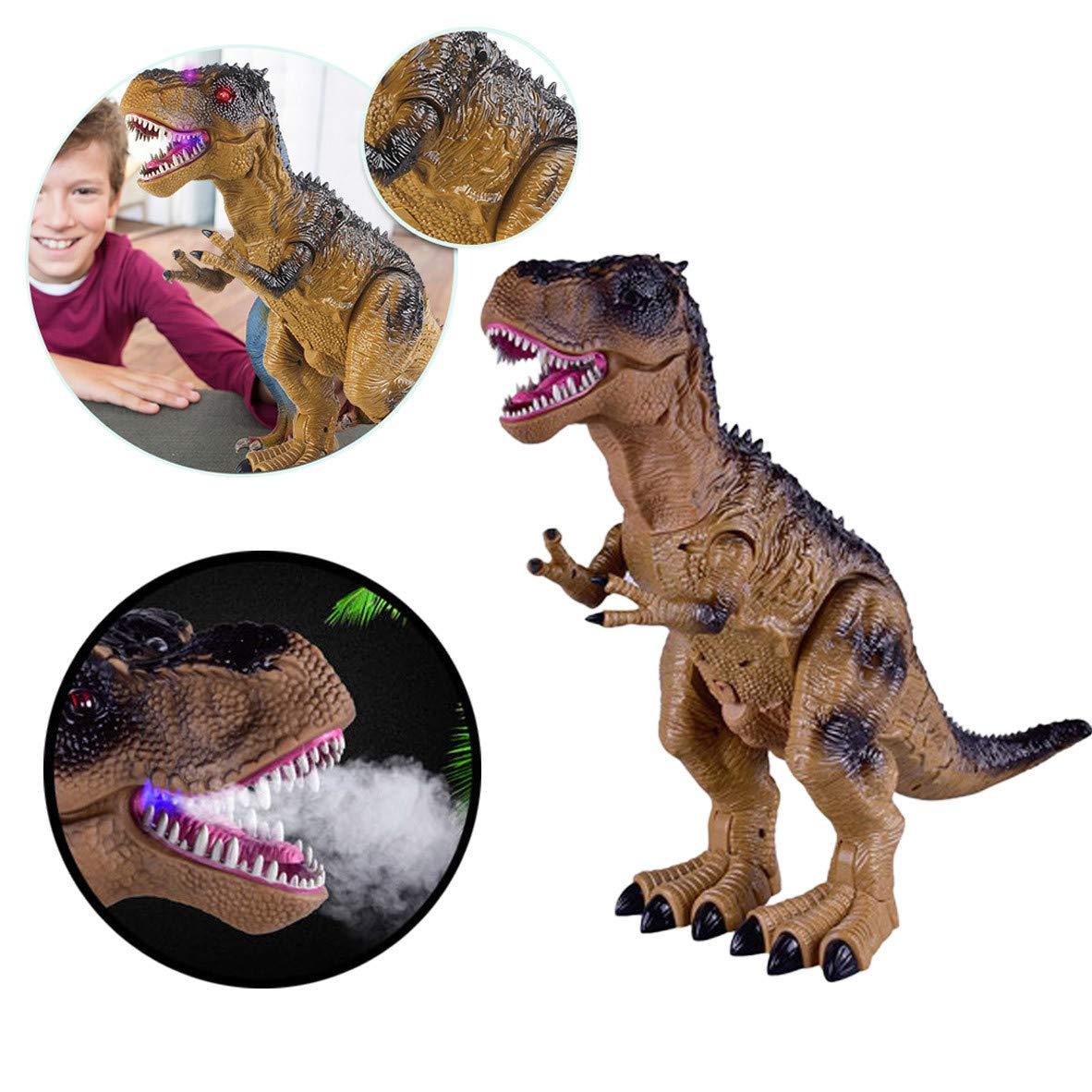 Sannysis Christmas Decor, Remote Control Walking Dinosaur Toy Fire Breathing Water Spray by Sannysis (Image #3)