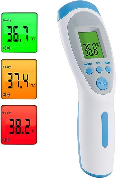 Thermomètre Frontal Enfant Adulte Thermomètre Digital