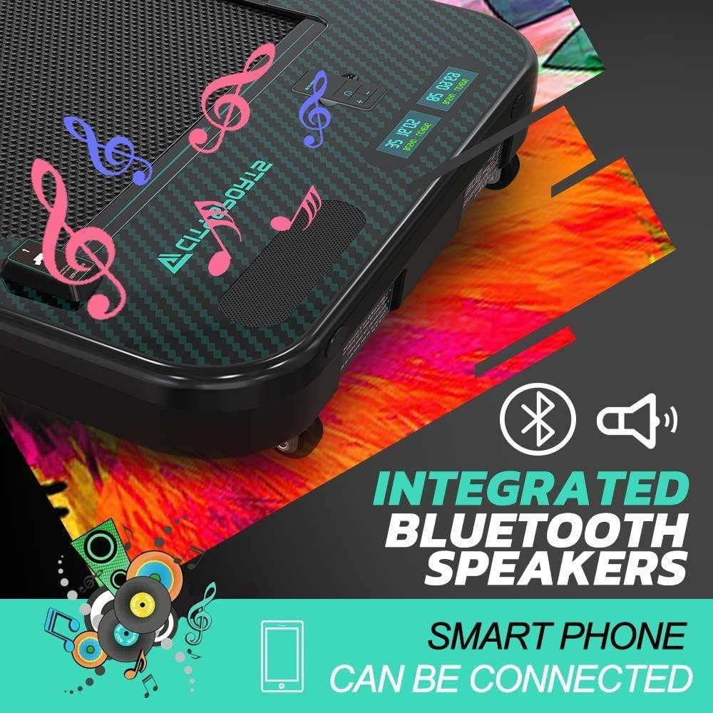 L/'/écran LCD Pratique /à Utiliser Facile /à d/époser Haut-parleurs Bluetooth int/égr/és CITYSPORTS Tapis de Course avec Verrouillage Enfant