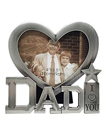 Amazoncom Caiying Fathers Day Gifts I Love You Dad Picture Frame
