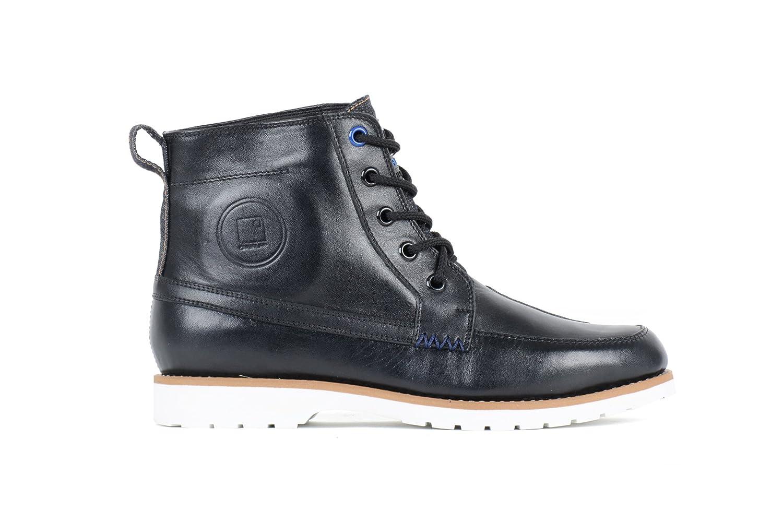 Chaussures de Moto Noir Taille 41 OVP-11 OVERLAP