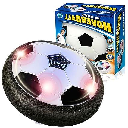 Easony Indoor Soft Foam Ball Hover Ball Air Power Soccer for Kids ...