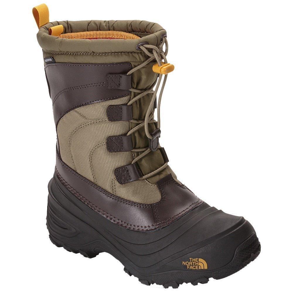 The North Face Alpenglow Iv B01N9842Q2 2 M US Boys|Burnt Olive Green/Arrowwood Yellow