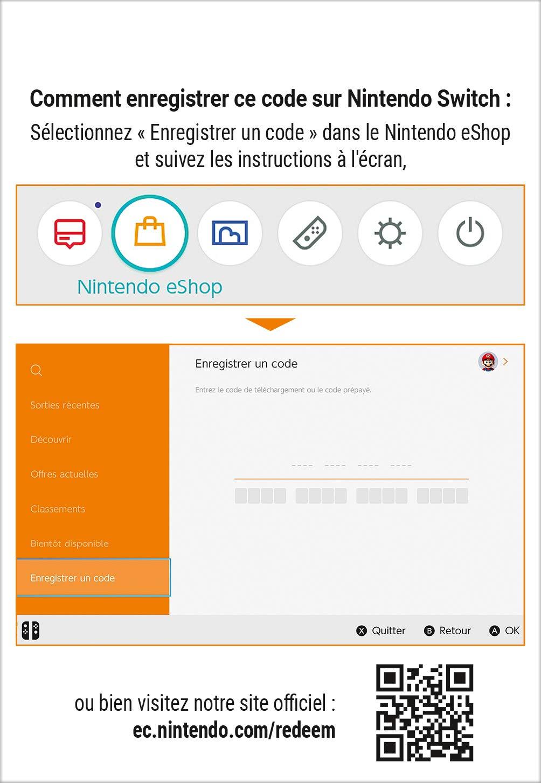 Nintendo Eshop Karte Code.Abonnement Nintendo Switch Online 12 Mois Nintendo