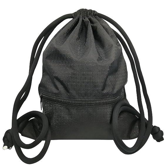 Mochila de Cordón Bolsa de Cuerdas Coolzon® Unisex Saco Deporte ...