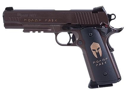 e2d20dd9729 Amazon.com   Sig Sauer 1911 Spartan Air Pistol (CO2 Cartridges are ...
