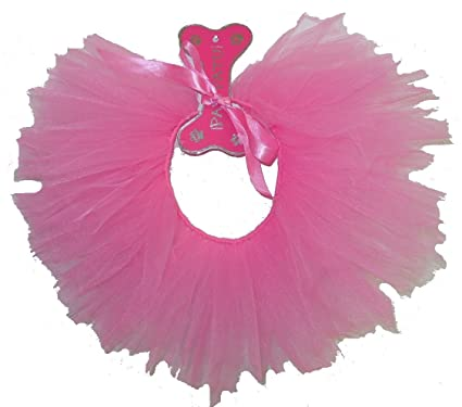 3817fe8aff5e0 Amazon.com : PAWPATU Tulle Tutu for Dogs or Cats, X-Large, Hot Pink ...