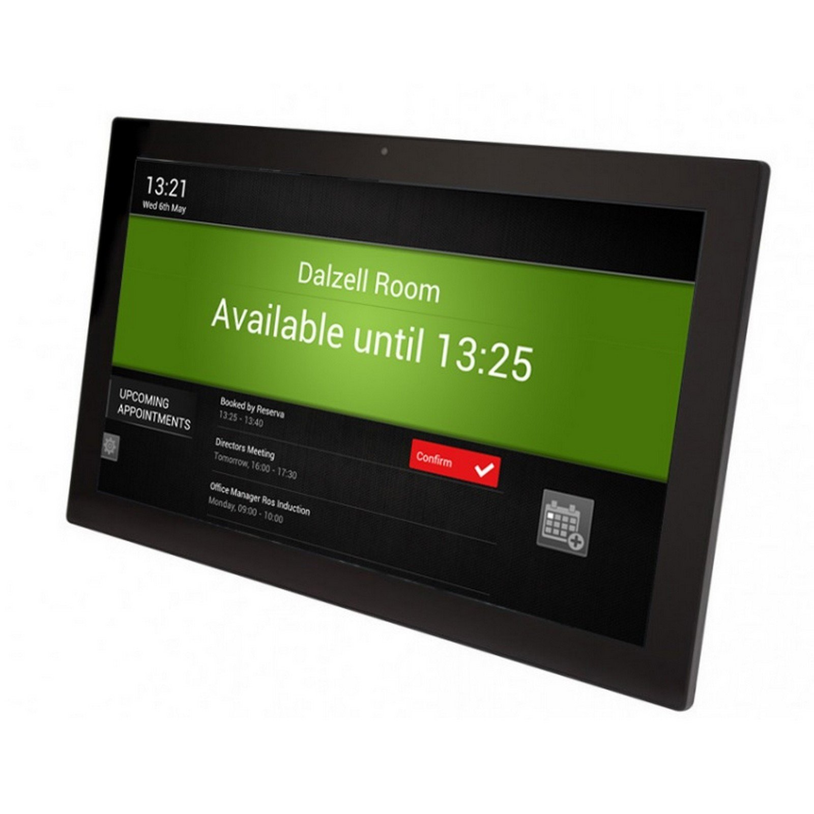 Reserva ROOM-15T-POE, 15 Inch Touchscreen Meeting Room Sign by Reserva (Image #1)
