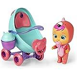 Cochecito Fancy de Bebés Llorones Mini Lágrimas Mágicas - IMC Toys
