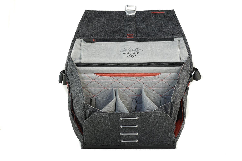 Peak Design Everyday Messenger Bag 15 Charcoal Bs Bl Shell Large 1 Version Camera Photo