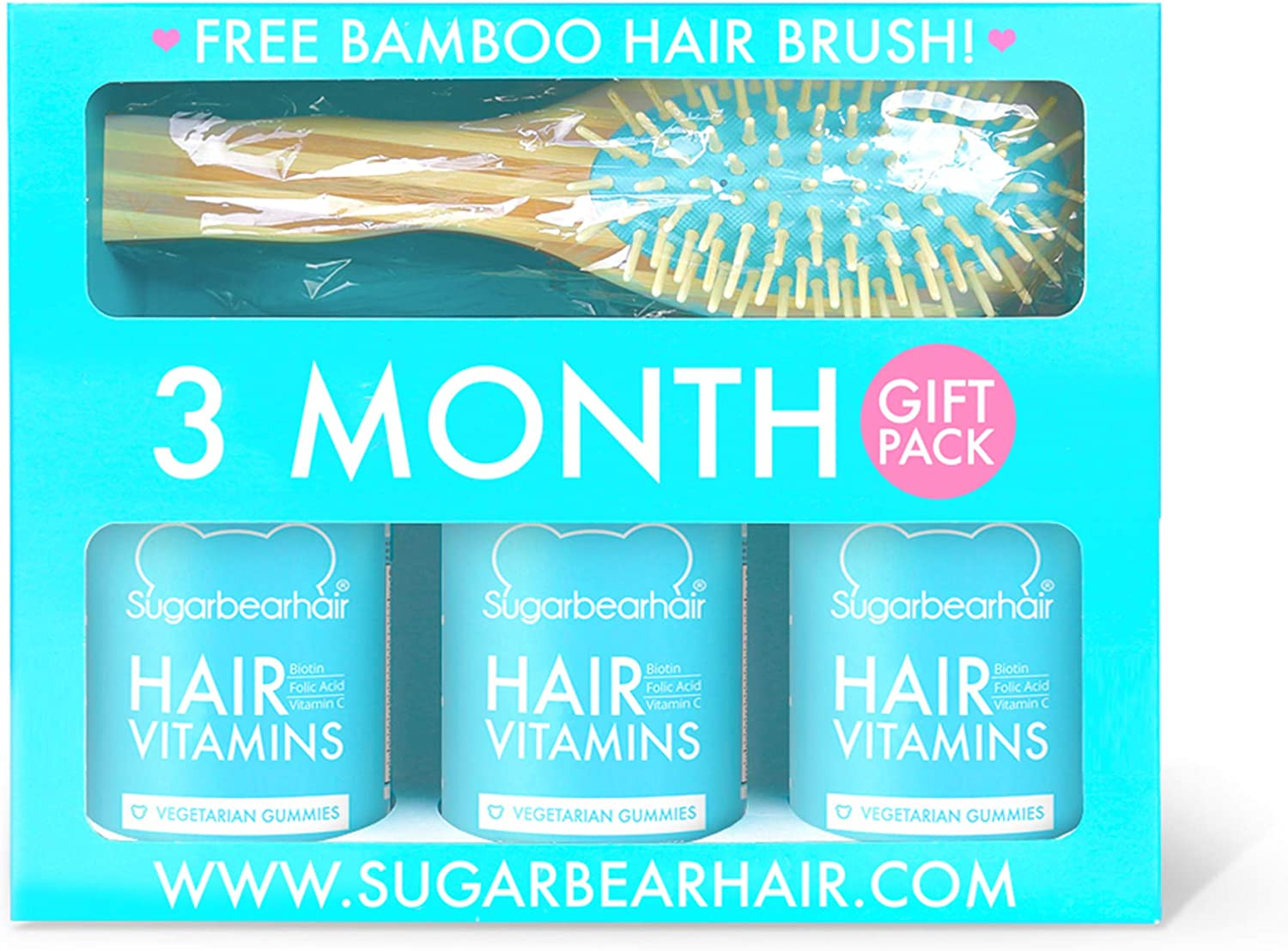 3 Month Gift Pack Free Brush