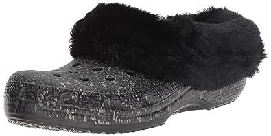 pretty nice 2ed53 f60b8 Crocs - Mammoth Luxe Radiant Clog - Black: Amazon.it ...