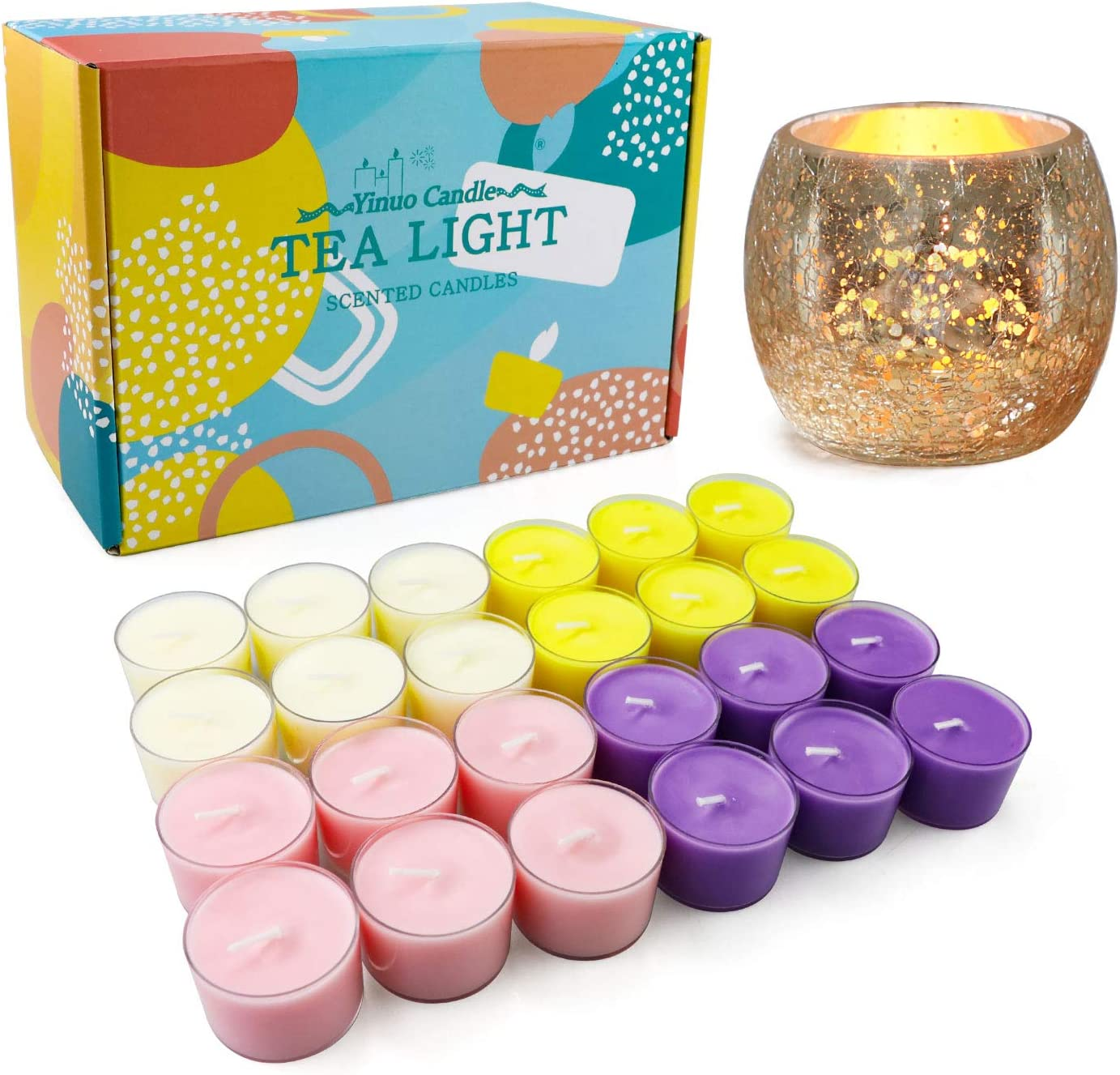 YMing Scented Tea Light Candles