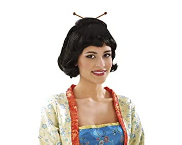 My Other Me Me - Peluca japonesa, talla única (Viving Costumes MOM01389)