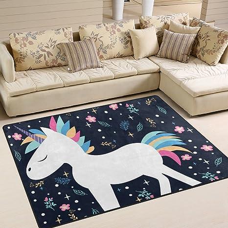 Amazon.com: ALAZA suave interior moderno hermoso unicornarea ...