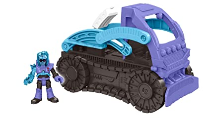 Zabawki Figurki z kreskówek Imaginext DC Super Friends Mr Freeze Snowcat Vehicle