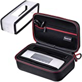 Smatree Hard Travel Carrying Case Compatible with Black Soft Cover for Bose Soundlink Mini I and Mini II Speaker